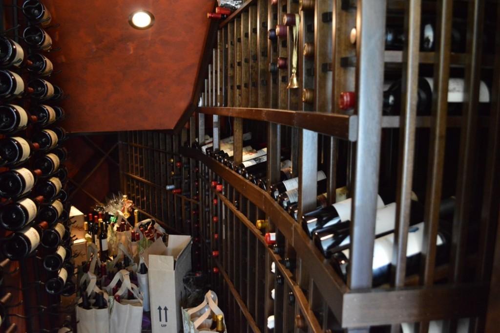 Residential Custom Wine Cellars Metal & Wooden Racking