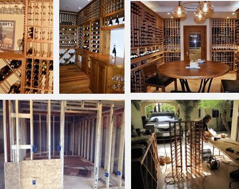 Wine Cellar Construction by Coastal Wine Cellar Builders