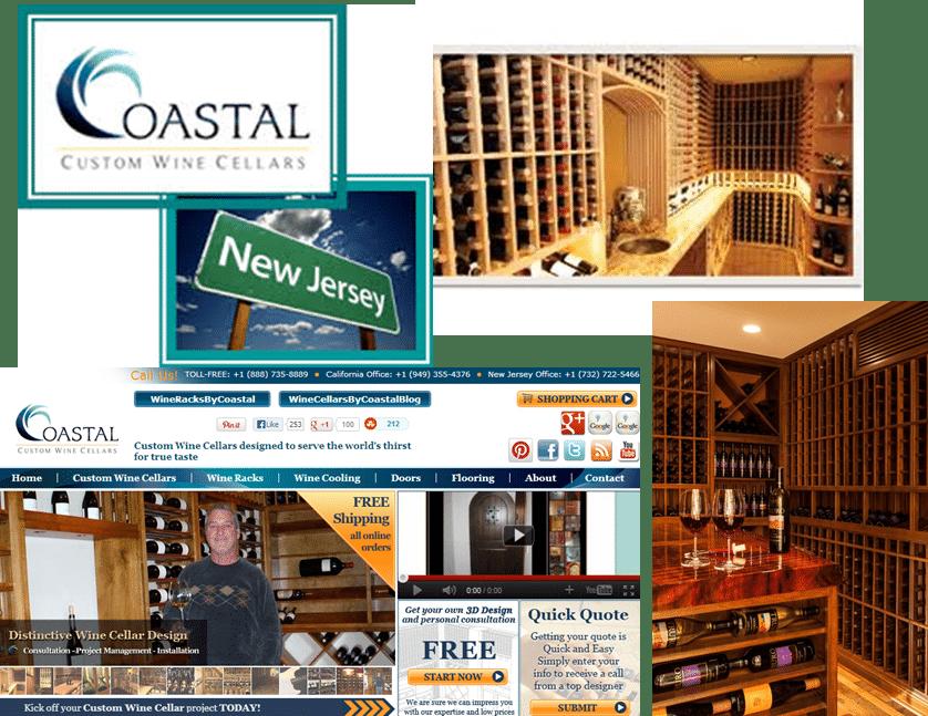 Coastal Custom Wine Cellar Builders New Jersey