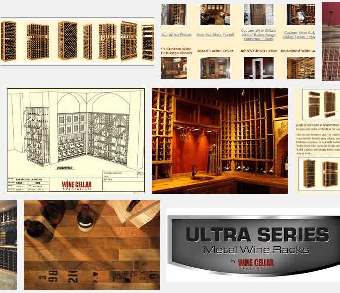 Wine Cellar SPecialists Products and Services
