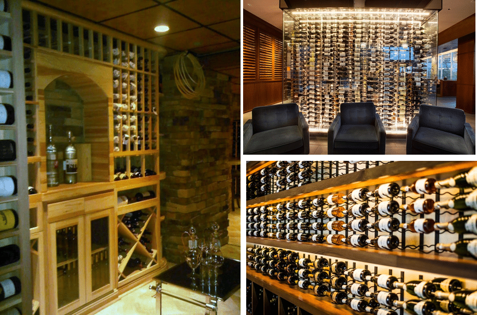 Innovative Wine Cellar Racks