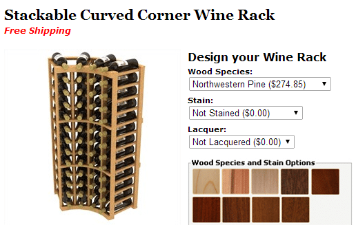 Stackable Wine Rack from Coastal