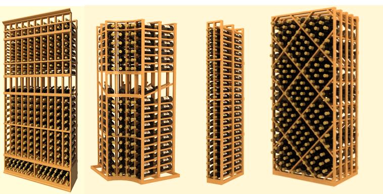 Custom Wooden Wine Racks